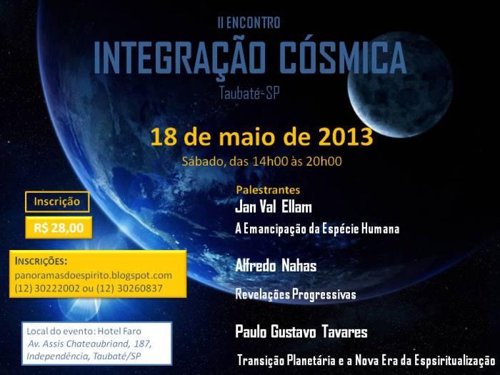 II ENCONTRO integracao cosmica _ oficial