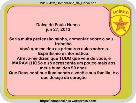 20150422_Comentário_da_Dalva